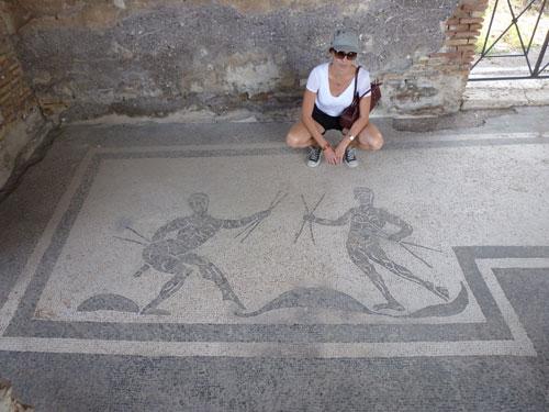 Roma/ Ostia Antica/ Tyrrhenian Sea
