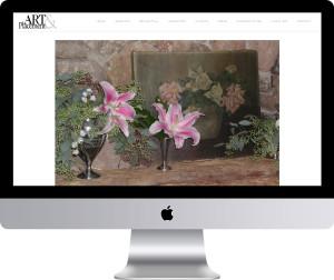 Maleka Designs Website for Art & Placement