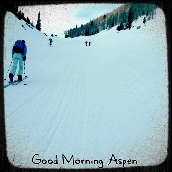 Uphill Aspen