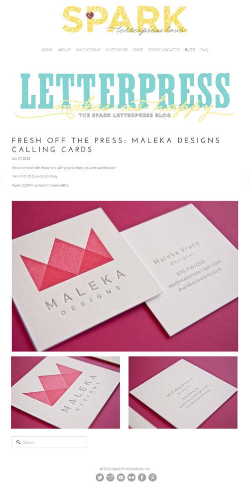 Spark LetterPress
