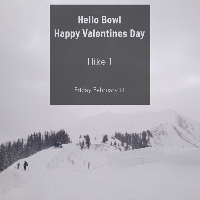 Highlands Bowl - Hike 1