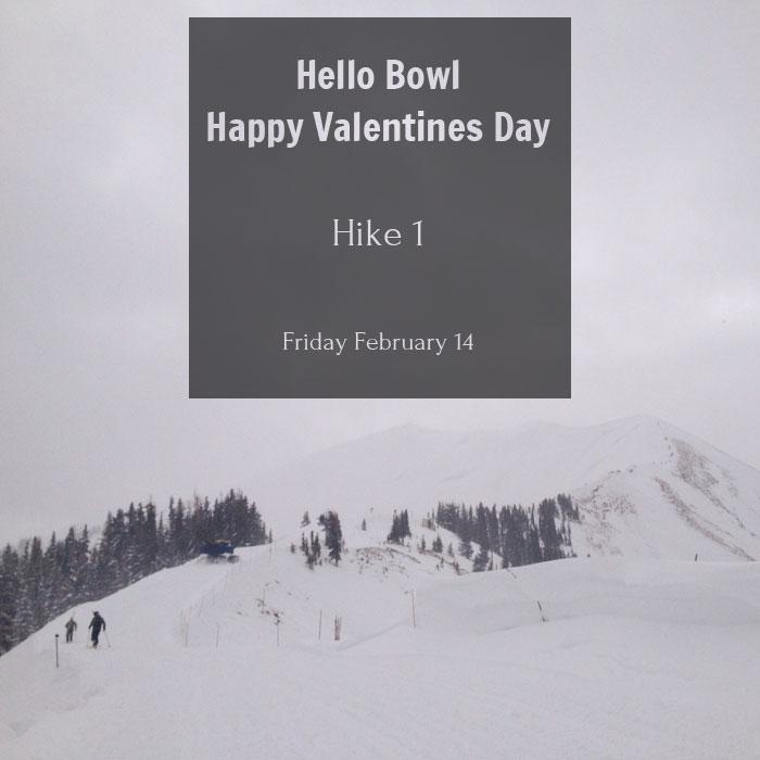 Highlands Bowl - Hike 1