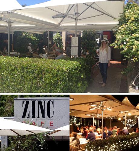 Zinc Cafe Laguna Beach