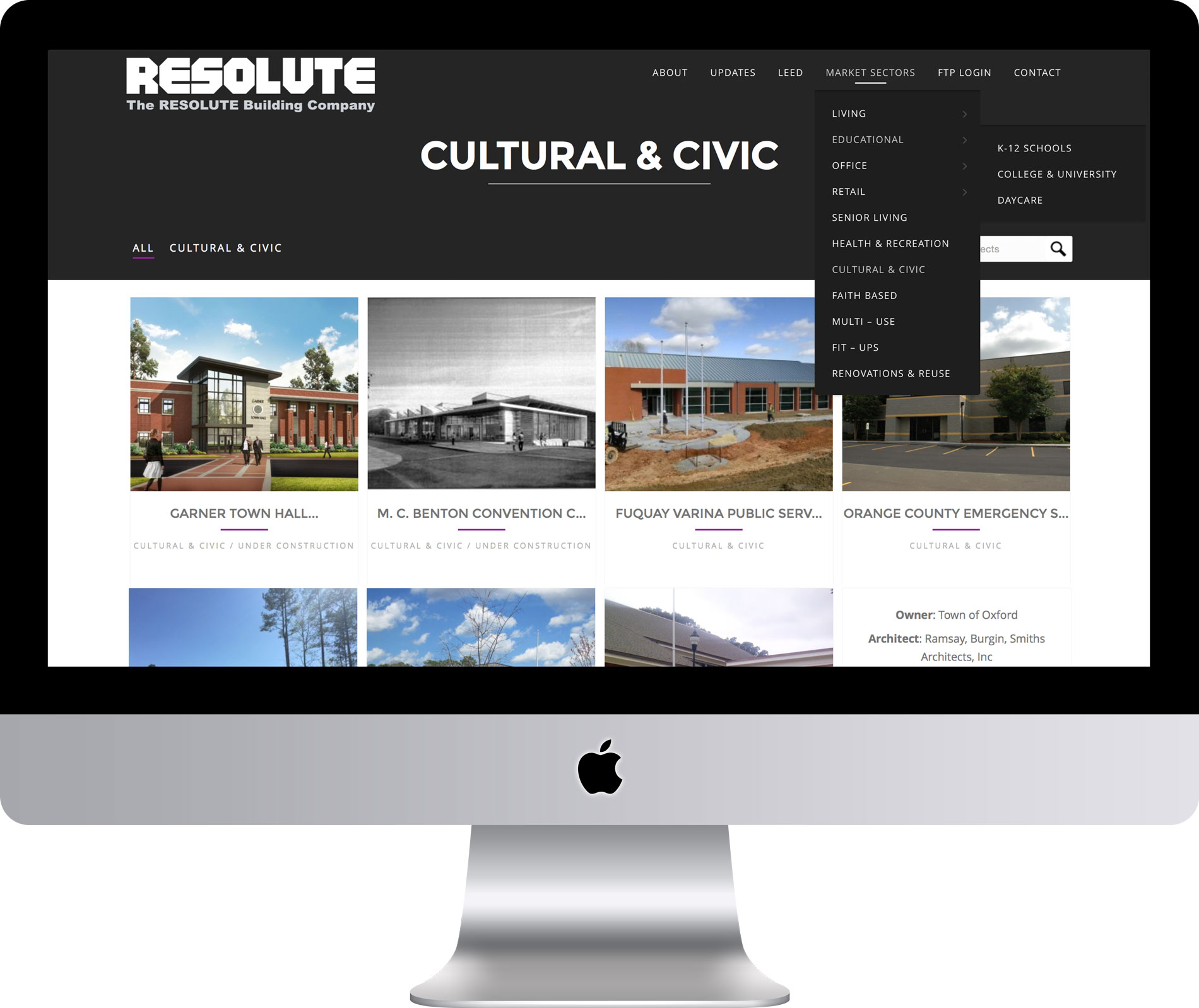 Maleka Designs for RESOLUTE Building Company
