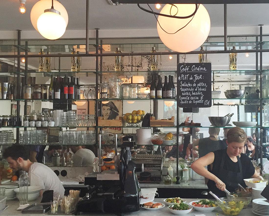 CINÉMA CAFÉ - Paris