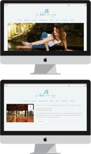 Jen Bluestone Website and Logo Design
