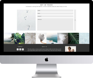 Villa Palmier St Barts Website Design