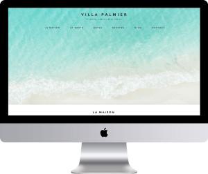 Villa Palmier St Barts Website Design