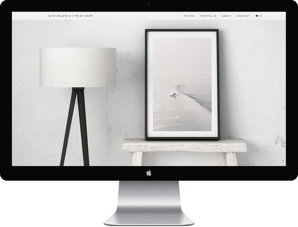 Kate Holstein Prints Website Design