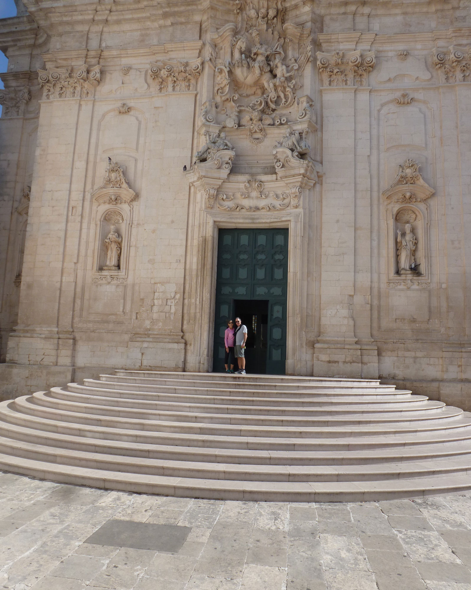 Biking to Martina Franca