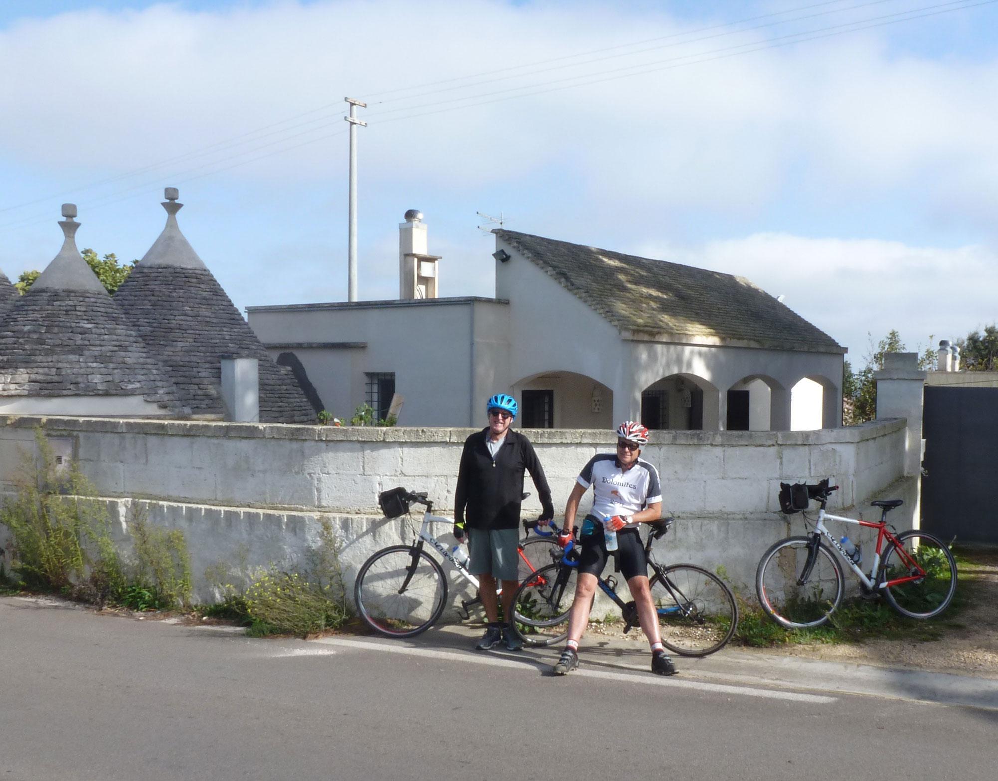 Biking to Martina Franca