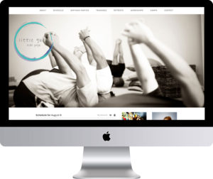 Maleka Designs Website for Little Guru Kids Yoga