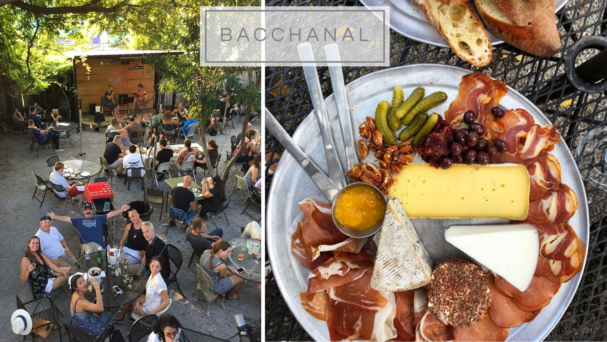 Bacchanal Wine Bar New Orleans
