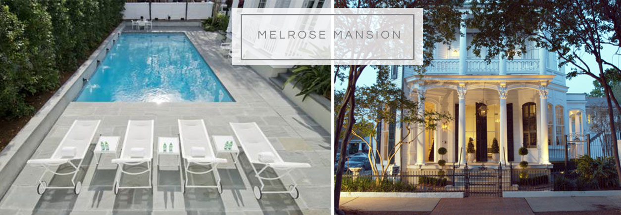 Melrose Mansion Boutique Hotel New Orleans