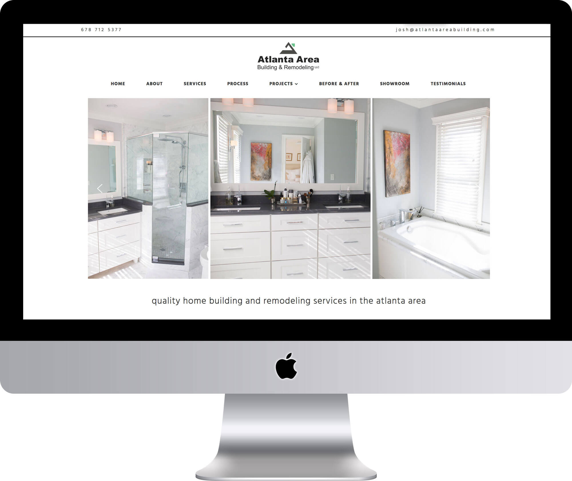 Atlanta Construction WordPress Website