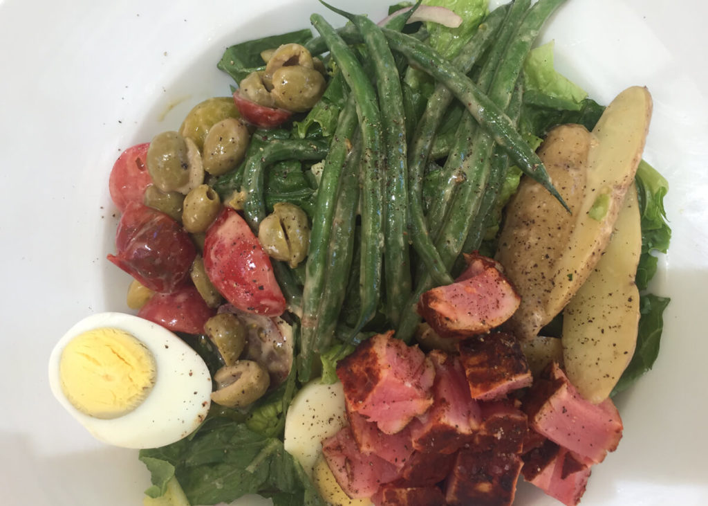 Tuna Nicoise at The Compound