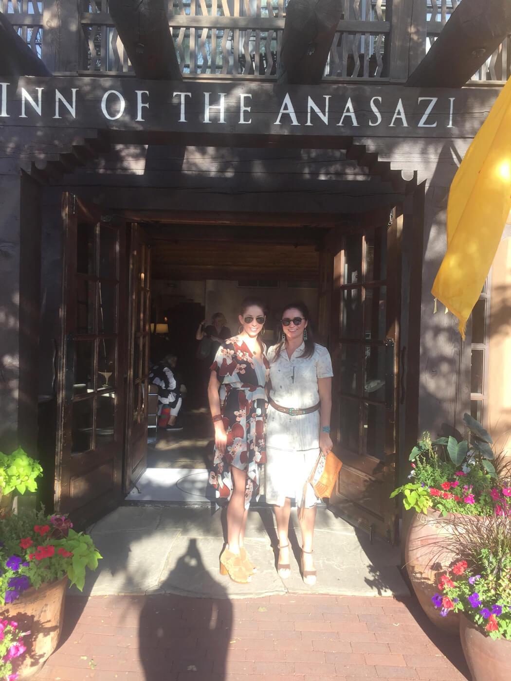 Anasazi hotel entrance Santa Fe