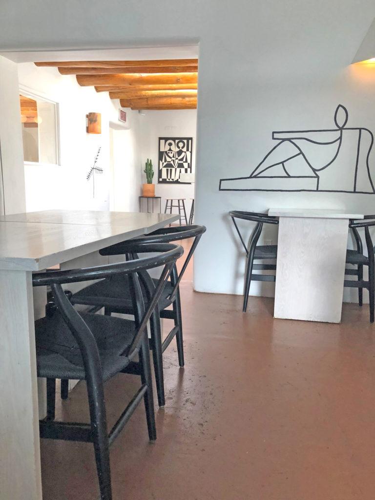 La Reina Bar in El Rey Hotel Santa Fe