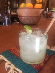 Margarita at La Choza Bar